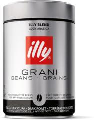 Zilveren Illy koffiebonen - donkere branding - 250 gram