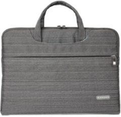 Kayond – Laptop Sleeve met hengsels tot 15.6 inch – 41 x 31 x 3 cm - Grijs