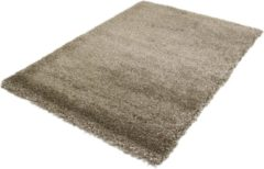 Basic Collection Hoogpolig Vloerkleed Shaggy Deluxe - Taupe - 80x150 cm