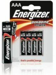 AAA batterij (potlood) Energizer Power LR03 Alkaline 1.5 V 4 stuk(s)