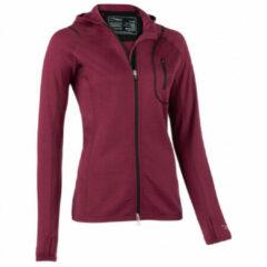 Engel Sports - Women's Hood Jacket L/S - Hoodie maat M, rood/purper