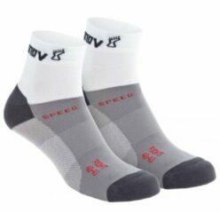 Inov-8 - Speed Sock Mid - Hardloopsokken maat M, grijs/wit