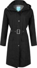 HappYRainyDays Zwarte dames regenjas (Long Coat) Bowie van Happy Rainy Days XXL