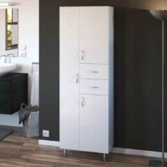 Andere ARMANDO Badkamerkast 3 deuren - L 60 cm - Wit