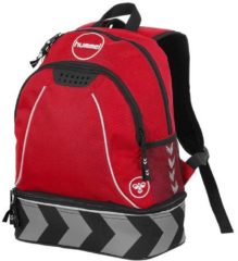 Rode Hummel Brighton Backpack Sporttas Unisex - One Size