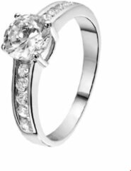 GLAMS The Jewelry Collection Ring Zirkonia - Zilver