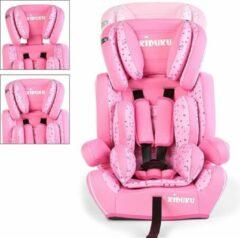 KIDUKU Sens Design Autostoeltje - Kinderstoel - Roze/Wit