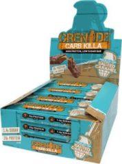 Grenade Carb Killa Bars - Proteïne Repen - Chocolade Zeezout - 12 eiwitrepen