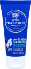 Treets Revitalising ceremonies hair & body mini 50 Milliliter