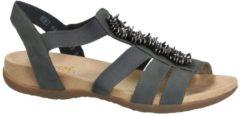 Rieker comfortabele dames sandalen Donkergrijs