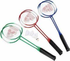 Rode Donnay Badmintonset - assorti