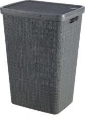 Curver Jute Wasbox - 58L - Donkergrijs