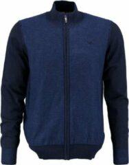 BlueFields blauw vest katoen - Maat S