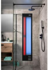 Xenz Feel Good shower UV en Infrarood inbouwlamp zwart