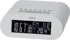 AEG UKW PLL - Uhrenradio mit Negativ-LCD-Display »MRC 4145 F«