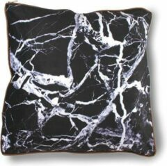 Zwarte Imoha Sierkussen Black Marble