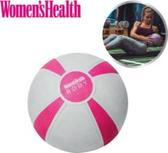 Grijze Women's Health Medicine Ball 8 kg - Medicijnbal – wall ball - fitnessaccessoires - Home Fitness