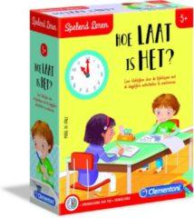 Clementoni Spelend Leren Hoe Laat Is Het? Educatief spel