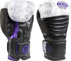 Paarse Joya Fight Gear Joya Fightgear - (kick)bokshandschoenen - 'Purple Falcon' - Leer - 14oz