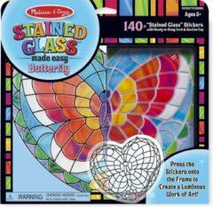 Melissa & Doug - Glas in lood - Butterfly - Knutselset