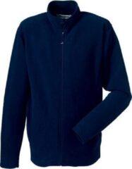 Blauwe Russell Fleece vest navy voor heren L