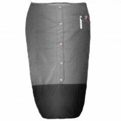 Grüezi Bag - Feater - The Feet Heater Deluxe - Voetenzak maat 200 cm, grijs/zwart