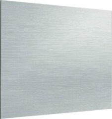 Zambala Uni Metallic Aluminium keuken spatwand voor fornuis van 90x75 cm