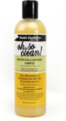 Aunt Jackies Aunt Jackie's Oh so clean moisturizing & softening shampoo - verzorgende shampoo -355ml