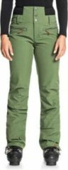 Groene Roxy Rising High Wintersportbroek Dames - Maat L