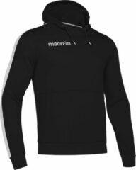 Macron Ska Hoodie - Unisex - Zwart/Wit - Maat M