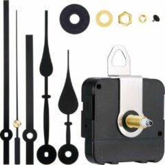 Zwarte GWS Quartz uurwerk - Nieuw Los Uurwerk Kopen en Vervangen - GWS HR1688-20 High Torque