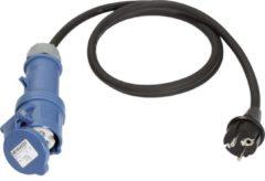 AS Schwabe Caravan CEE adapter stekker naar CEE koppeling 16A 230V