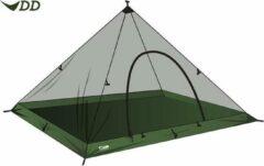 Groene DD Hammocks DD SuperLight - XL - Pyramid Mesh Tent