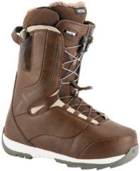 Nitro Crown TLS - Snowboard Boots für Damen - Braun