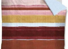 Rode Oilily dekbedovertrek Overflow red - extra kussensloop (60x70 cm)