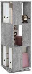 FD Furniture Rotator Ordnerkast 108 cm hoog - Grijs beton