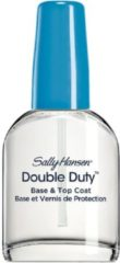 Transparante Sally Hansen Double Duty Strengthening - Base- & Topcoat