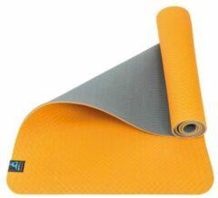 Sportbay Eco Deluxe - Fitnessmat / Yogamat - 183 cm x 61 cm - Oranje