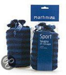 Blauwe Martini Sport Sisal massage badspons 407 Sport