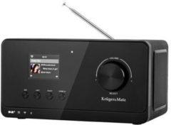 Krüger&Matz Krüger & Matz KM0816 - DAB+, internet en FM radio met Bluetooth connectiviteit - Zwart