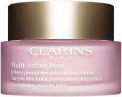 Clarins Multi-Active Jour - All Skin Types Dagverzorging 50 ml