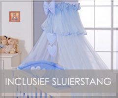 Roze My Sweet Baby Sluier Voile Blauw (incl Sluierstang)