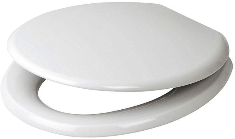 Afbeelding van Witte Plieger Start closetzitting softclose thermoplast met kunststof bevestigingsset wit 4345124
