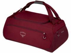 Rode Osprey Daylite Duffel 60 cosmic red Handbagage koffer