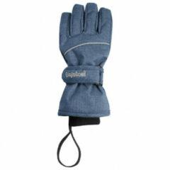Playshoes - Kid's Finger-Handschuh - Handschoenen maat 6-8 Years, blauw/grijs