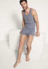 Hessnatur Herren Achselshirt aus Bio-Baumwolle – grau – Größe 5