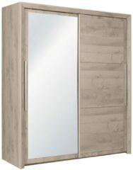 Gamillo Furniture Schuifdeurkast Sarlat 191 cm breed in donker eiken