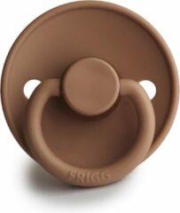 FRIGG Fopspeen maat 1 - 0-6 maanden - Peach Bronze - Natuurrubber