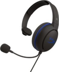 HyperX Cloud Chat Gaming Headset - Official Licensed PS4 - Zwart/Blauw