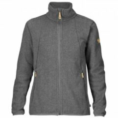 Grijze Fjällräven Fjallraven Stina Fleece Vest Dames - Dark Grey - Maat XS